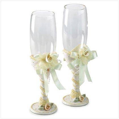 Ceremonial Beaded Wedding Goblets