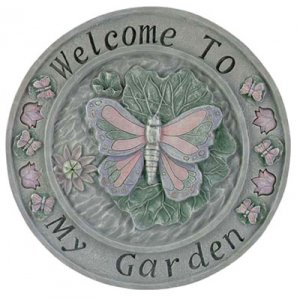 Butterfly Garden Welcome Plaque