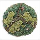 Frog Garden Medallion