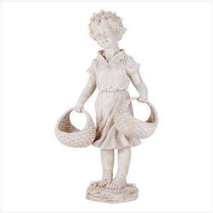 Garden Girl with Baskets