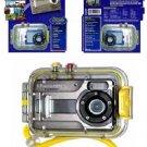 NEW COBRA DIGITAL DC5600 5.0 Megapixel 4X Digital Zoom Camera And Digital Underwater Case