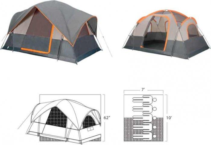 NEW Mt Adams 5 Person Tent