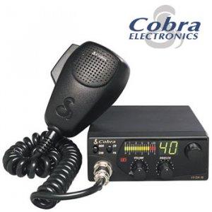 NEW COBRA® 40 CHANNEL COMPACT CB RADIO