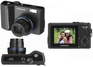 Samsung S850B 8.0MP Digital Camera - Black