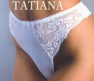 NEW TASHA- lace thong