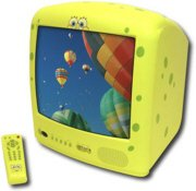 """Emerson SpongeBob SquarePants 13"""" TV With On-Screen Display and Remote"""