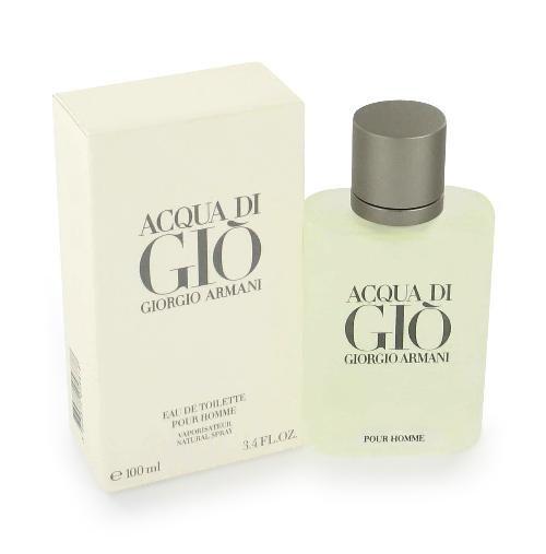 NEW Acqua Di Gio Cologne by Giorgio Armani for Men - Eau De Toilette Spray 3.3 oz