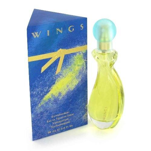 NEW Wings Perfume by Giorgio Beverly Hills for Women - Eau De Toilette Spray 3oz.
