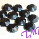 20ss Swarovski Rhinestones HOT FIX 72 pcs ~JET BLACK