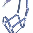 McAlister Padded Adjustable Nylon Halter W/ Matching Lead