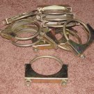 """exhaust/pipe/muffler clamps 3 1/2"""" - new,set of 10"""