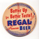 1940's Regal Beer Baseball Coaster Miami FL