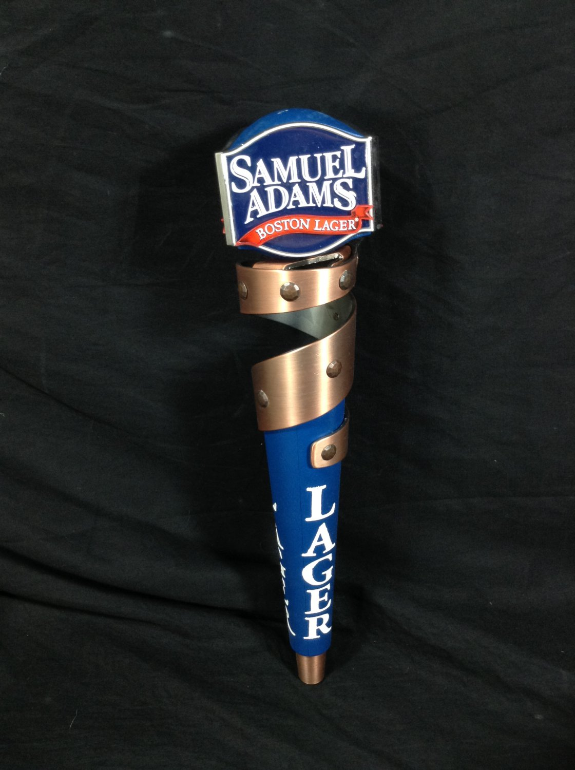 Samuel Sam Adams Boston Lager Beer Tap Handle Draft Keg Knob