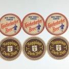 Knickerbocker Beer Coasters Vintage New York (6)