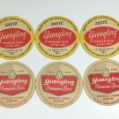 6 Yuengling Beer Coasters Vintage Pottsville PA