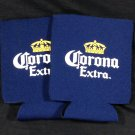 2 Corona Extra Beer Koozie Can Cooler Coozie