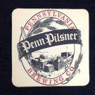 Pennsylvania Brewing Co Coaster Craft Beer penn pilsner