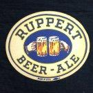 1940's Ruppert Ale Beer Coaster New York
