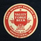 Valley Forge Beer Coaster Vintage 1940's