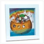 Kids Clocks (Noah's Ark Clock)