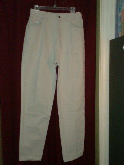 Lee Jeans, Khaki Color, Size 14 Long