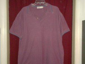 EWM Pure Classics Polo Shirt, Burgundy, Size Large