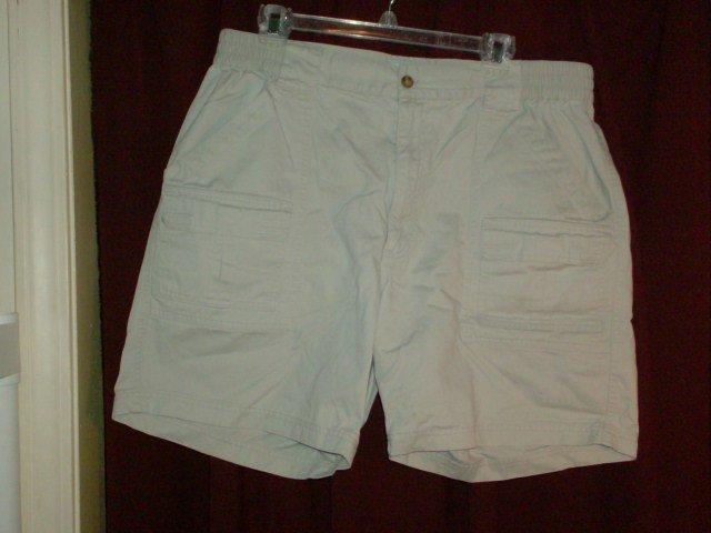 Covington Khaki Cargo Shorts, Size 36