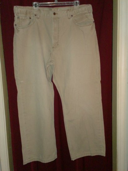Old Navy Loose Khaki Jeans, Big Mens Size 42 x 30