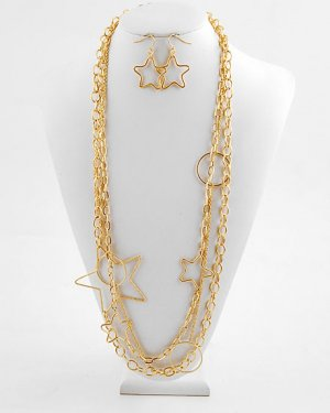 Goldtone Stars Linked
