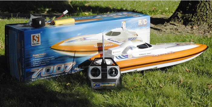 """All New!! 34"""" Remote Control Superlative Mosquito Craft RTR High Speed Racing Boat"""