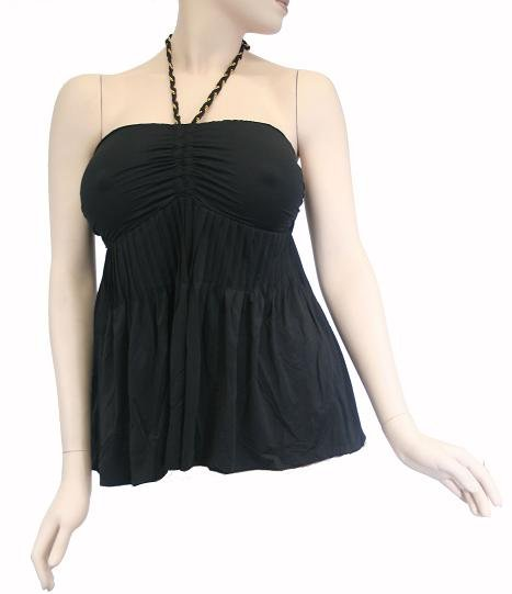 Halter Top # TH088Black,