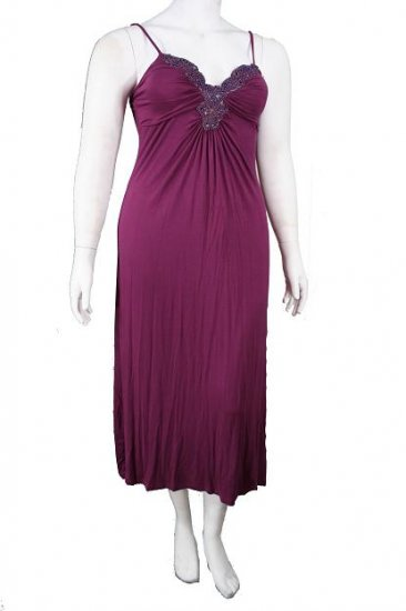 DressPlus Size # DP8556Purple