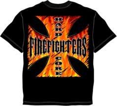 HARDCORE FIREFIGHTER MENS TEE