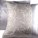 "Duo Toile Pillow Cushion Cover 20"" Crystal White"