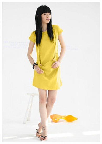 Sun Shine Yellow Big Pocket Tunic/ Dress