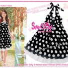 Heapy Polka Dot - Vintage Halter Dress ( Free Shipping)