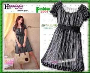 Go Vintage Polka Dot Beautiful Dress