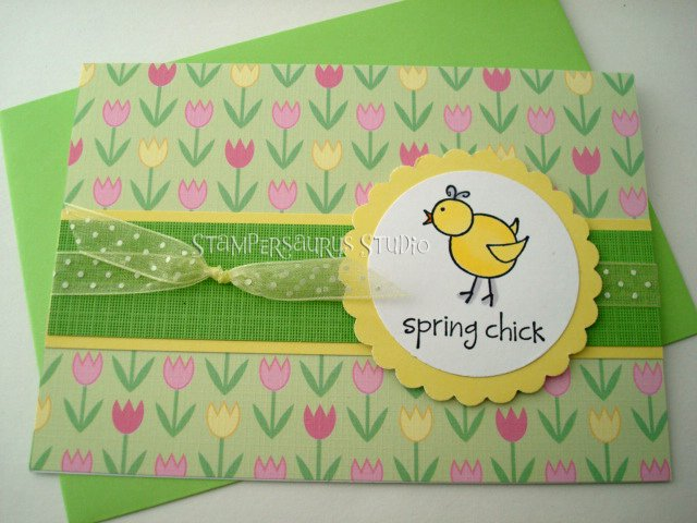 Spring Chick Card