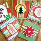 5 pc. Christmas Gift Card Set