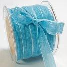 5/8 BLUE Sheer Ribbon