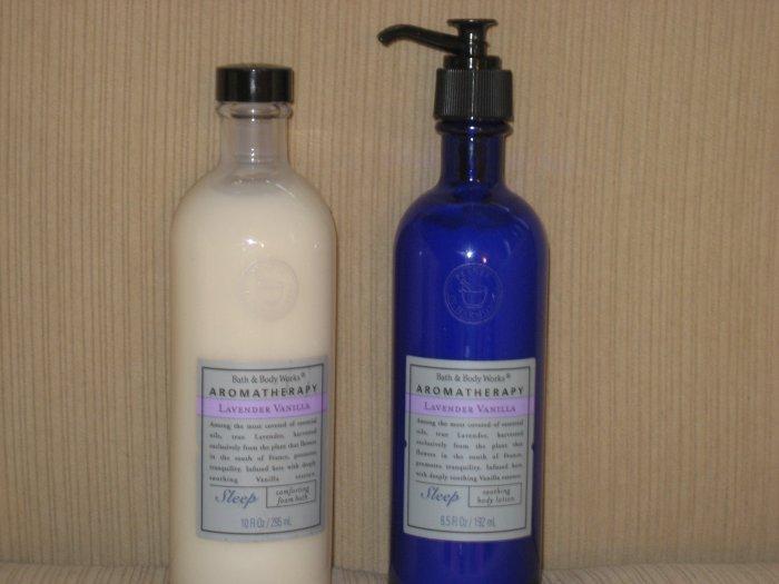 Bath & Body Works Lavender Vanilla Foam Bath - Sleep