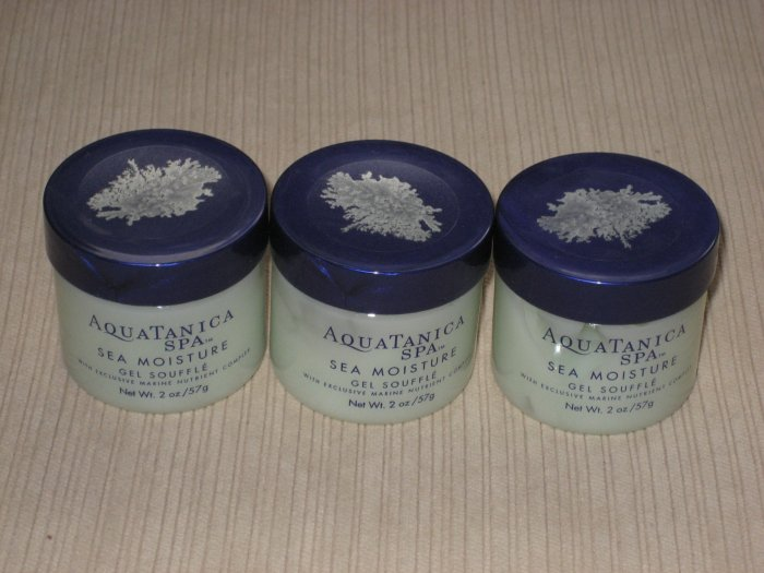 3 small size of Aquatanica Spa Sea Moisture Gel Souffle