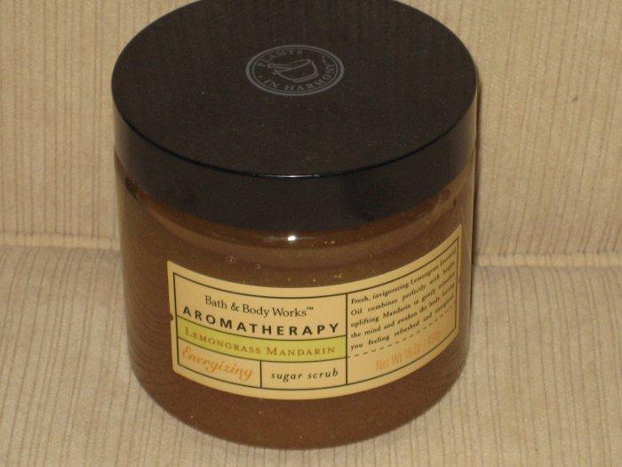 Bath & Body Works Lemongrass Mandarin Energizing Sugar Scrub