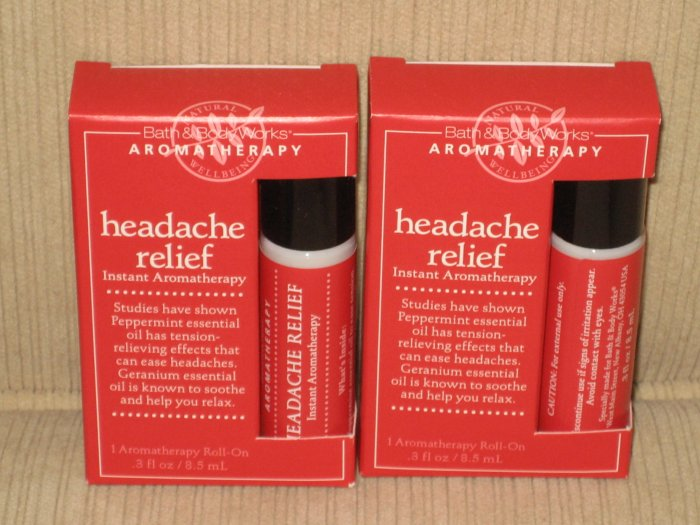 Bath & Body Works Headache Relief Instant Aromatherapy Roll-On