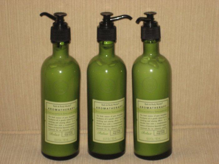 3 Bath & Body Works Eucalyptus Spearmint Body Lotion