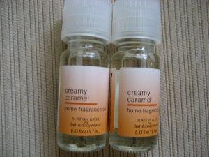 2 Bath & Body Works creamy nutmeg  fragrance oil