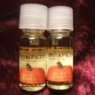 2 Bath & Body Works pumpkin fragrance oil