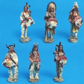 More Native American Figurines