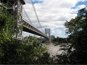 LITTLE RED & THE GWB-Photographic Art-8 x 10 Print