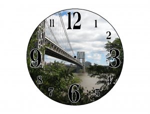 Little Red & the GWB Wall Clock